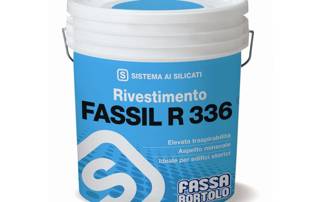 Revestimiento coloreado a base de Silicatos FASSIL R336