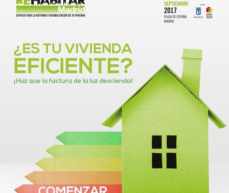 REHABITAR MADRID 2017  Espacio para la reforma y rehabilitación de tu vivienda