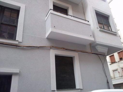 Rehabilitación de fachada en Bilbao