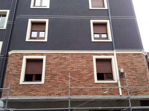Rehabilitación de fachada en Sestao