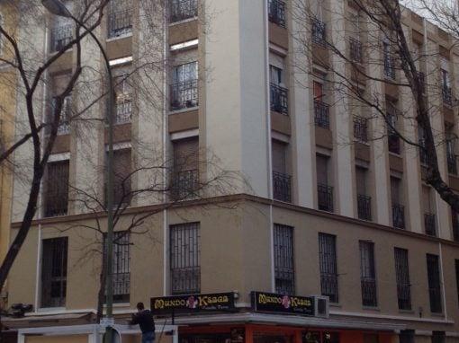 Rehabilitación de fachadas en la calle Áncora 15