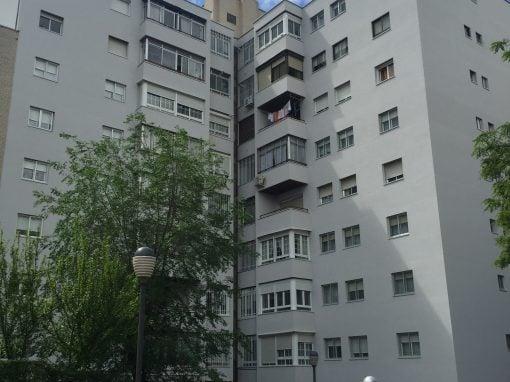 Rehabilitación de fachadas en Coslada