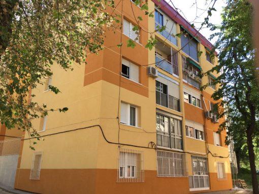 Rehabilitación de fachada en la calle Corregidor Mendo Zúñiga