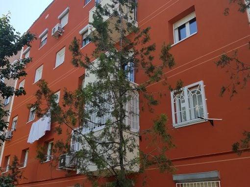Rehabilitación de fachadas en la calle Doctor Casal (Madrid)