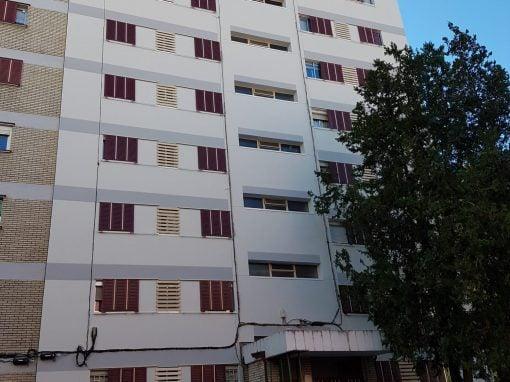 Rehabilitación de fachadas en la calle Maqueda 81, Madrid