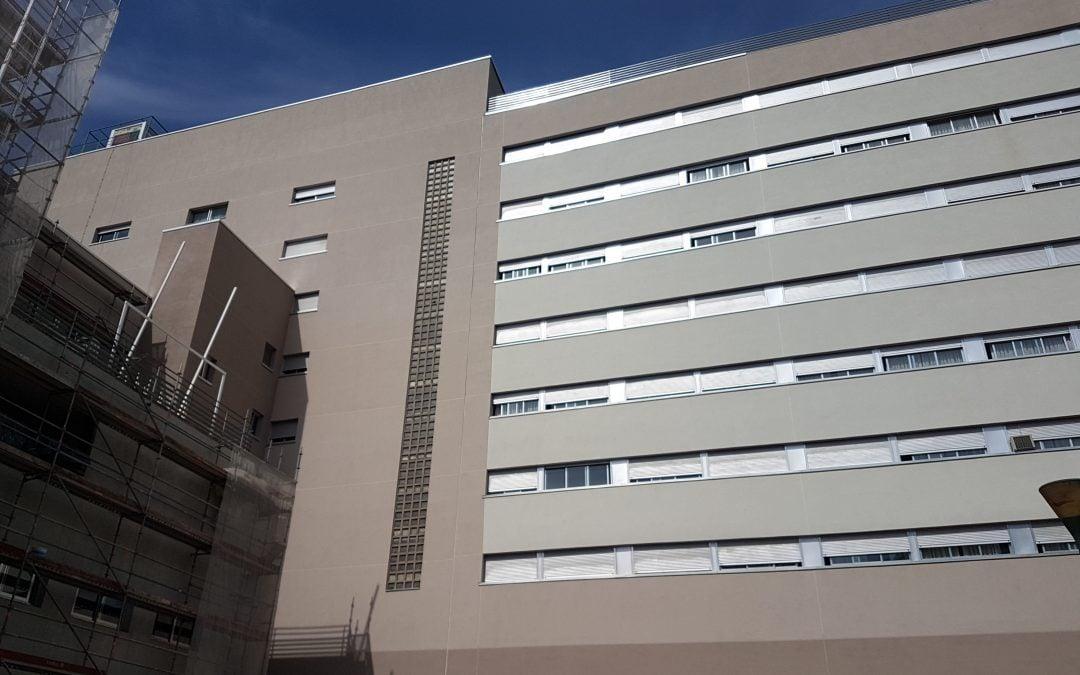 Obra nueva residencia de Mayores en Arganda, Madrid