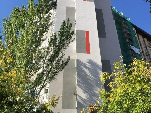 Rehabilitación de fachada en Madrid